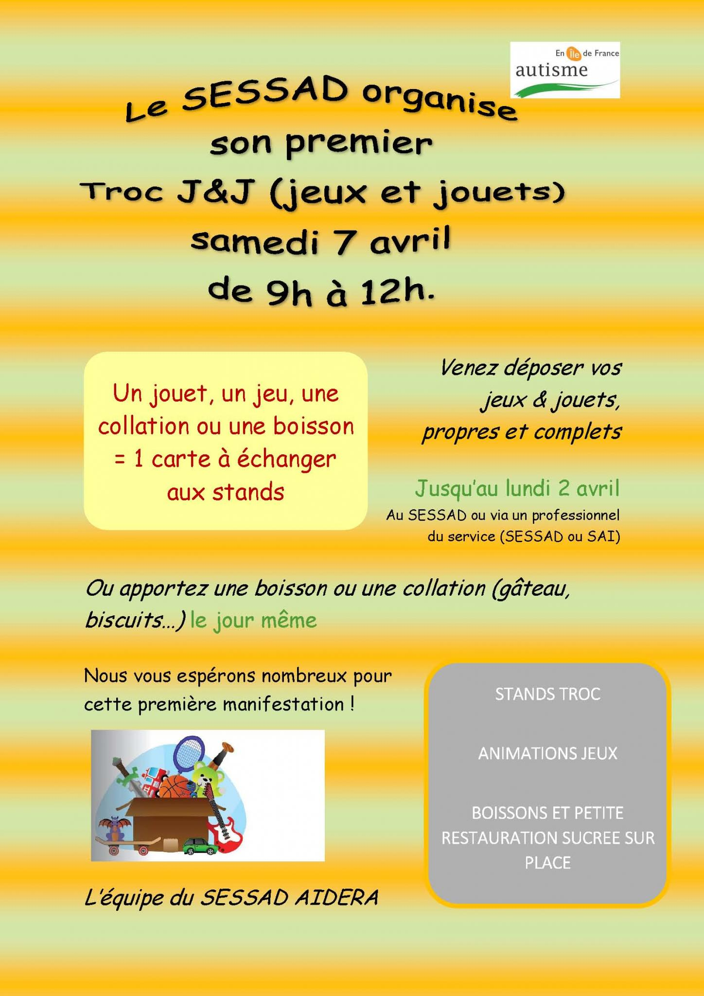 Invitation troc
